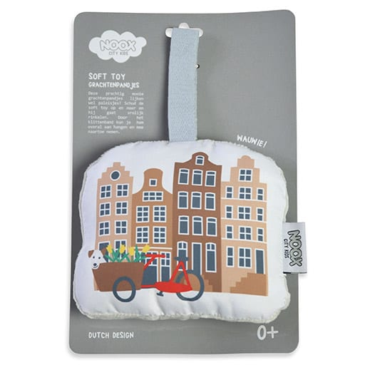Soft Toy Grachtenpandjes in geschenkverpakking | NOOX City Kids