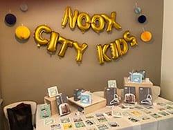 Originele kraamcadeaus op de lancering NOOX City Kids | NOOX City Kids