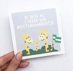 Mijn Eerste Momentjes Kaarten Rotterdam | NOOX City Kids