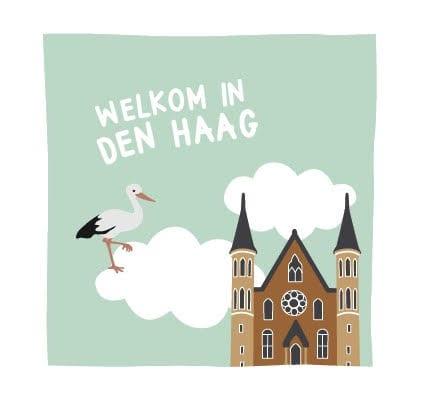 NOOX welkom in Den Haag kraamcadeau