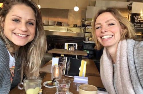 Kristi en Inoek - de trotse eigenaressen van NOOX City Kids