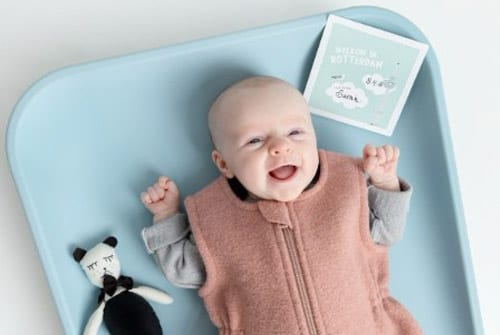 Baby met Mijn Eerste Momentjes Kaarten | Originele Kraamcadeaus NOOX City Kids