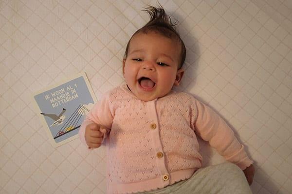 Baby Stella met Mijn Eerste Momentjes Kaarten Rotterdam | NOOX City Kids