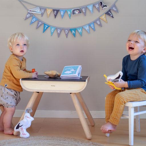 Geboorteslinger Rotterdam Blauw | NOOX City Kids