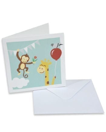 Wenskaartje met envelop | Originele Kraamcadeaus NOOX City Kids