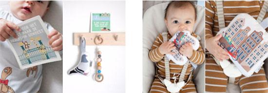 Mijn Eerste Momentjes Kaarten - Soft Toy Duif - Soft Toy Grachtenpandjes | NOOX City Kids