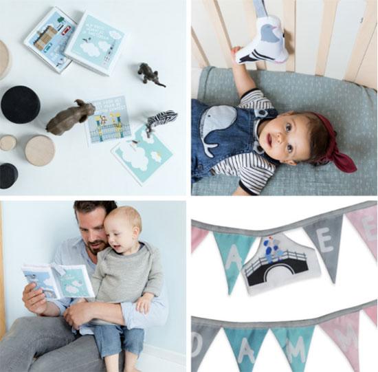 Mijn Eerste Momentjes kaarten - Soft Toy Duif - Zacht Babyboekje - Geboorteslinger | NOOX City Kids