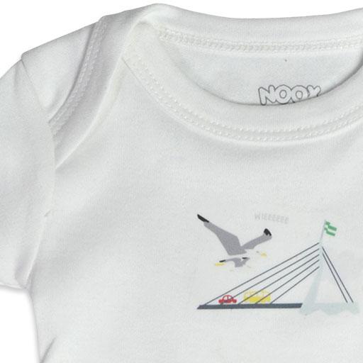 Baby Romper Rotterdam | Originele Kraamcadeaus NOOX City Kids