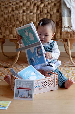 Zachte Babyboekjes en Mijn eerste momentjes kaarten   NOOX City Kids