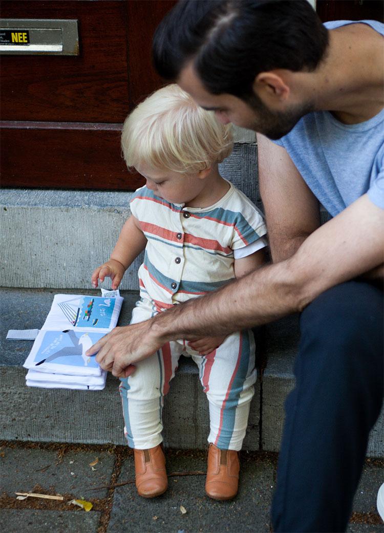 Zacht Babyboekje   NOOX City Kids
