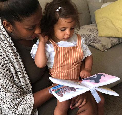 Zacht babyboekje | NOOX City Kids