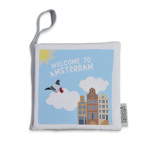 Zacht Babyboekje Welcome to Amsterdam | NOOX City Kids