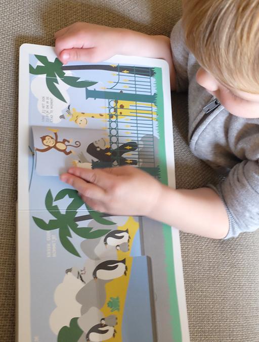 Het vrolijke stadsdieren flapjesboek | NOOX City Kids