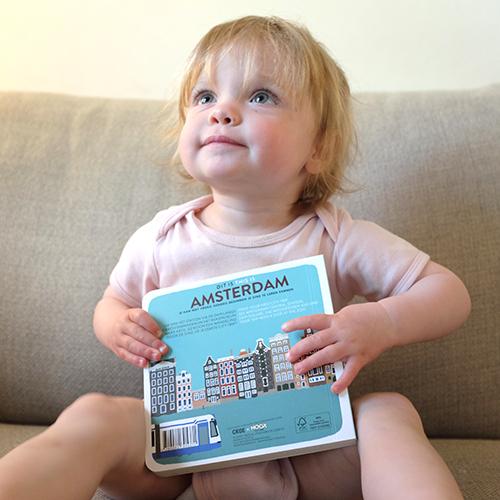 Kartonnen Boekje Dit is Amsterdam | NOOX City Kids
