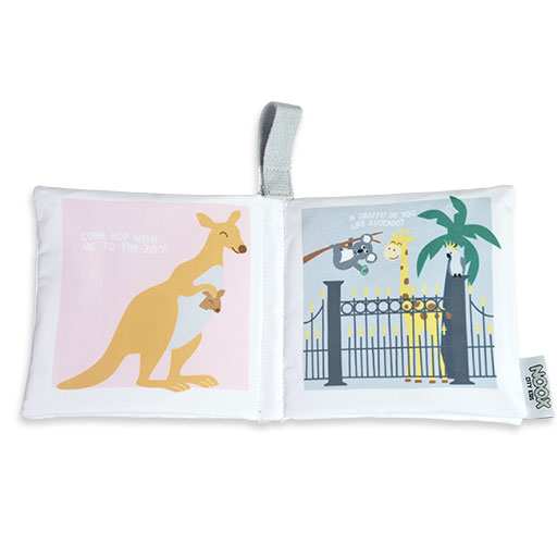 Zacht babyboekje Melbourne | NOOX City Kids