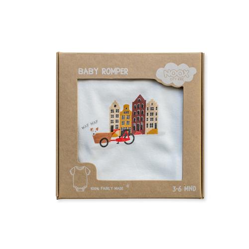 Romper Amsterdam 100% fairly made | NOOX City Kids