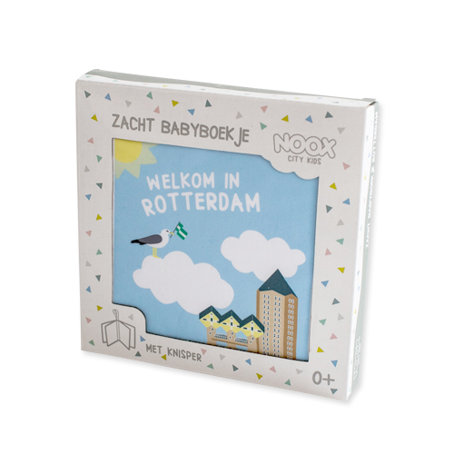 Zacht babyboekje Rotterdam | NOOX City Kids