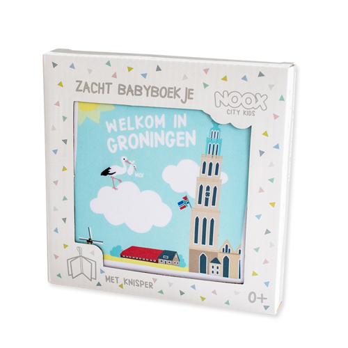 Zacht babyboekje Groningen | NOOX City Kids