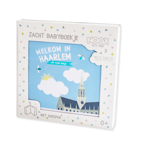 Zacht babyboekje Haarlem   NOOX City Kids en Mugjes Haarlem