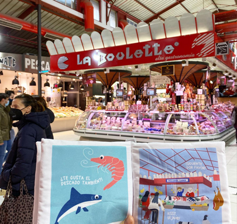 Zacht Babyboekje Madrid | NOOX City Kids