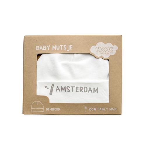 Babymutsje Amsterdam   NOOX City Kids