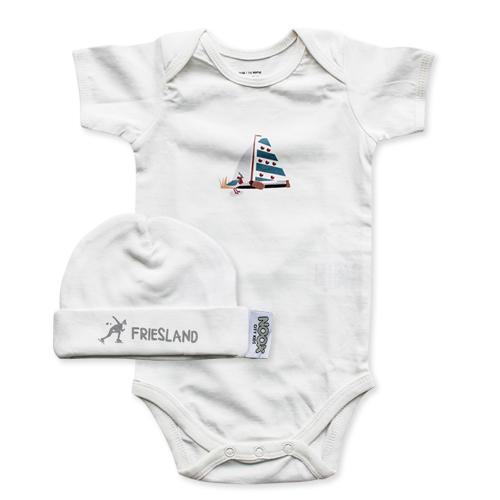 Romper en babymutsje Friesland | NOOX City Kids