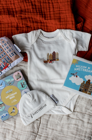 Amsterdam collectie | Originele Kraamcadeaus NOOX City Kids